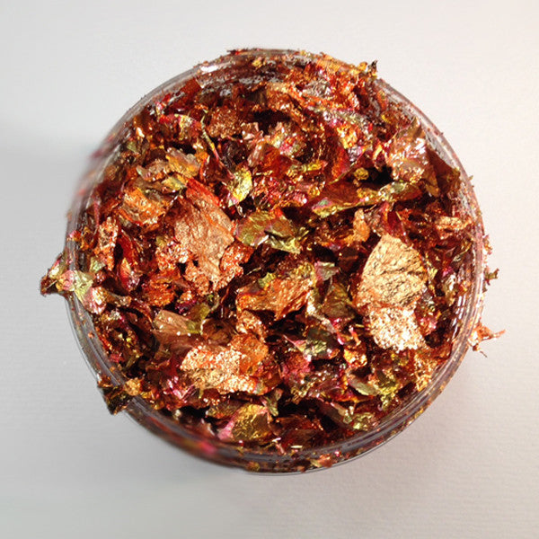 Red Blaze Gilding Flakes