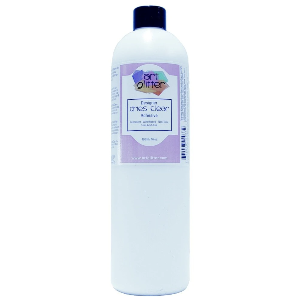 16oz Clear Art Glitter Glue