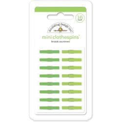 Limeade Mini Clothespins