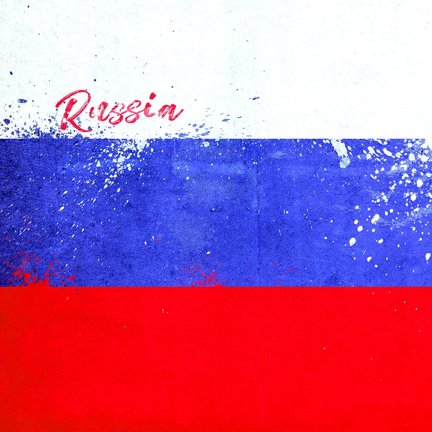 Russia Flag Paper