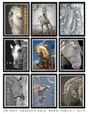 Horses Series 1 Adhesive Backed Stamps