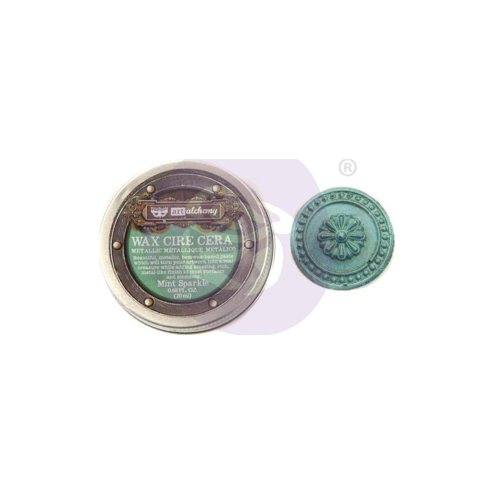 Art Alchemy Mint Sparkle Metallique Wax