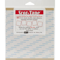 6x6 Scor-Tape Sheets