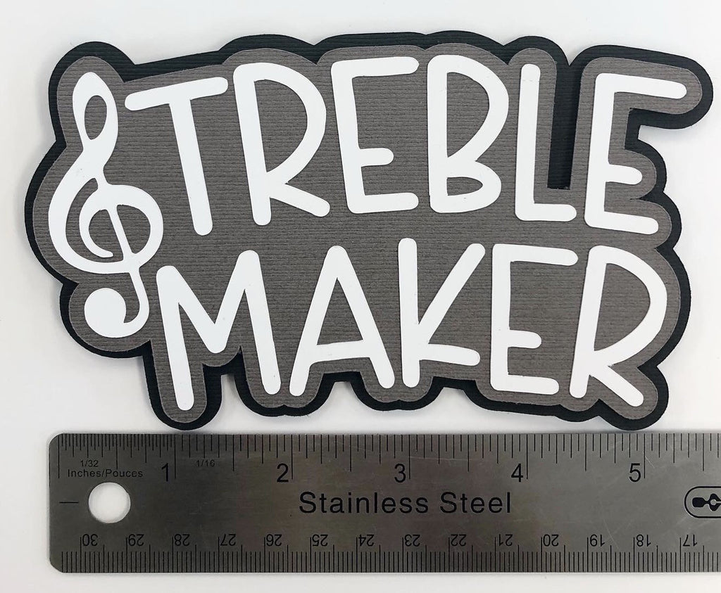 Treble Maker Layered Die Cut