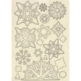 Winter Tales Snowflakes A5 Wooden Shapes