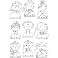 Little Princess Pretty Princess Stamps