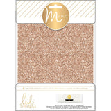 Rose Gold Minc Glitter Sheets