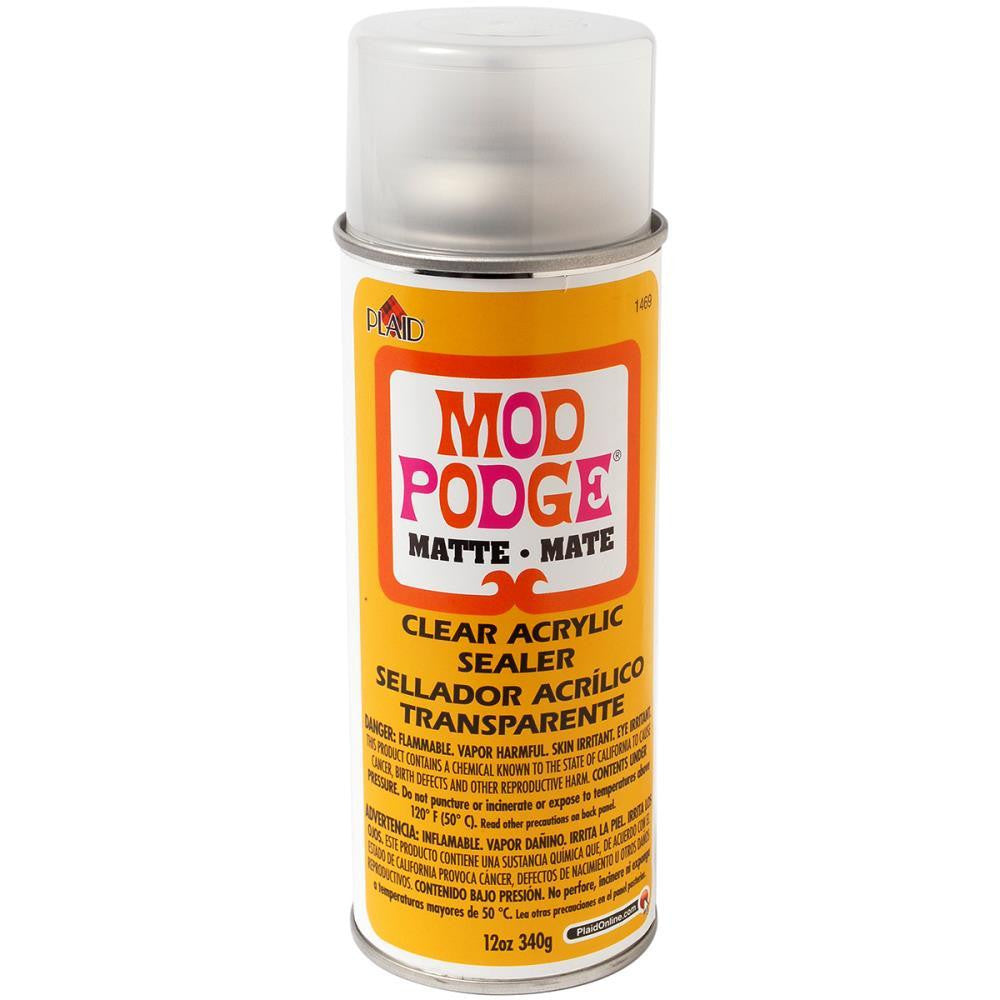 Matte Mod Podge Spray Sealer