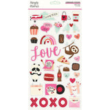 Sweet Talk Chipboard Stickers