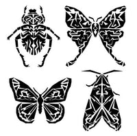 Insects 6x6 Stencil