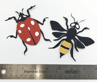 Set of Insects Layered Die Cut