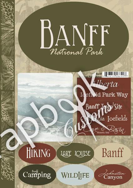 Banff National Park Stickers
