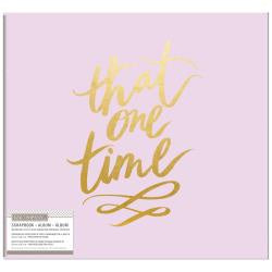 That One Time 12x12 Post Bound Album