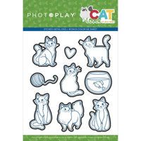 Cat Lover Etched Dies