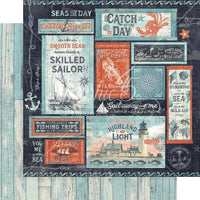Catch Of The Day Seas The Sunshine Paper
