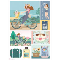 Johanna Rivero Bicycles Rice Paper