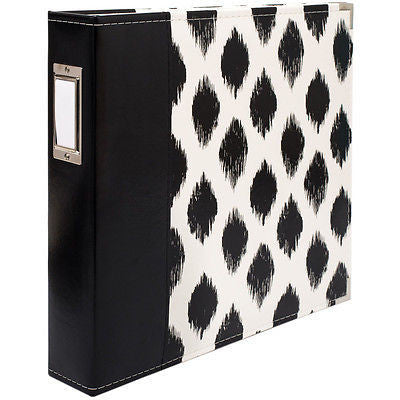 Ikat 12x12 Classic Leather D-Ring Album