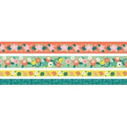 Bright Floral Washi Tape Set