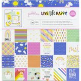 Live Life Happy Paper Pad