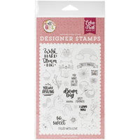 All Girl Dream Big Stamps