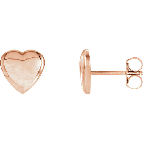 Heart Earrings - Cailin's