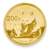 24K Yellow Gold Authentic Panda Currency Coin - Cailin's