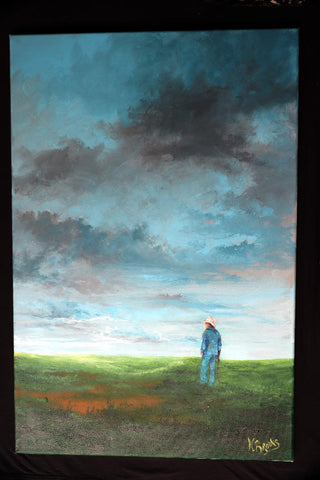 Farmer Reflective Big Sky - Cailin's