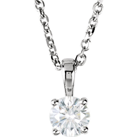14K White Gold Diamond Necklace - Cailin's