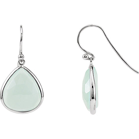 Sterling Silver Quartz Earrings - Cailin's