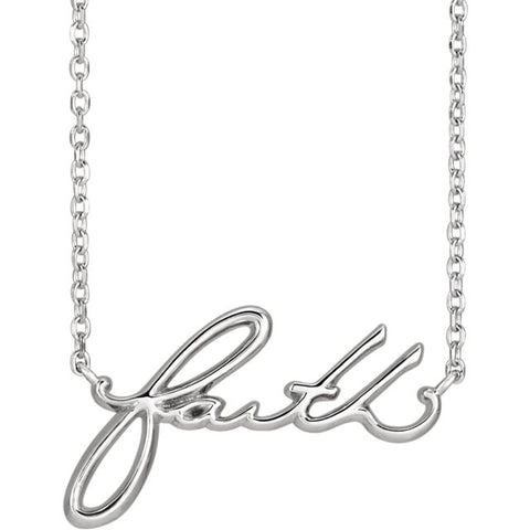 Faith For The Faithful Necklace - Cailin's