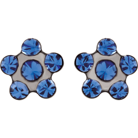Flower Accent Inverness Earrings - Cailin's