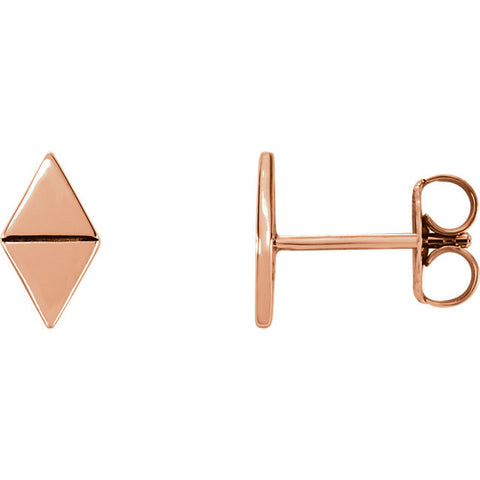 Geometric Mirror Triangle Earrings - Cailin's