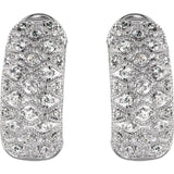 Sterling Silver Cubic Zirconia Earrings - Cailin's