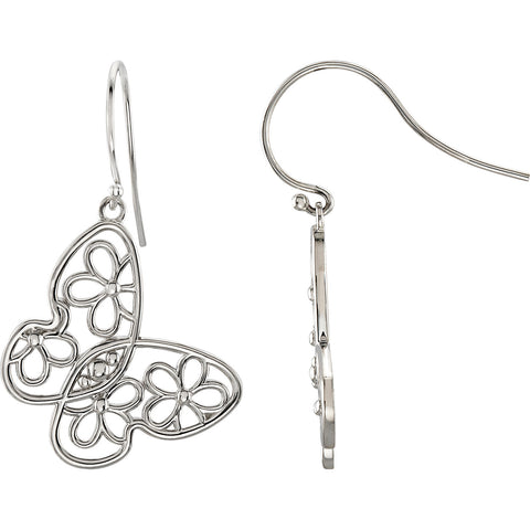 Butterfly Flower Fashion Earrings - Cailin's