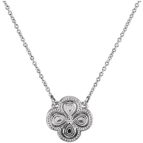 Clover Charm Icon Necklace - Cailin's