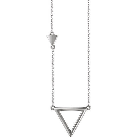 Triangle Necklaces - Cailin's