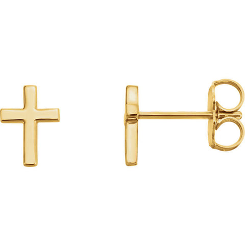 Classic Cross Post Earrings - Cailins | Fine Jewelry + Gifts