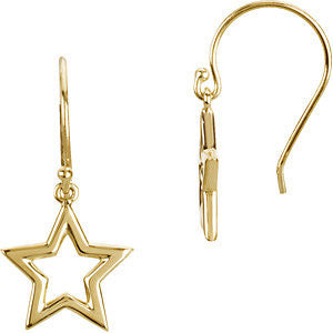 Open Star Post Earrings - Cailin's
