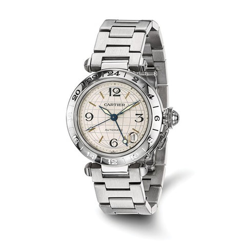 Cartier Pasha C Automatic GMT Luxury Watch - Cailin's