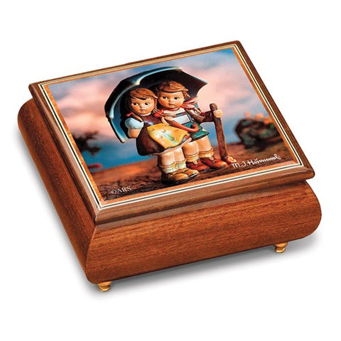 Hummel Stormy Weather Brahms Musical Box