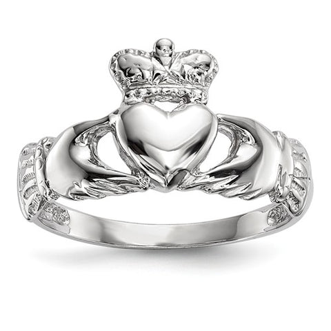 14K Yellow Gold Classic Claddagh Ring - Cailin's
