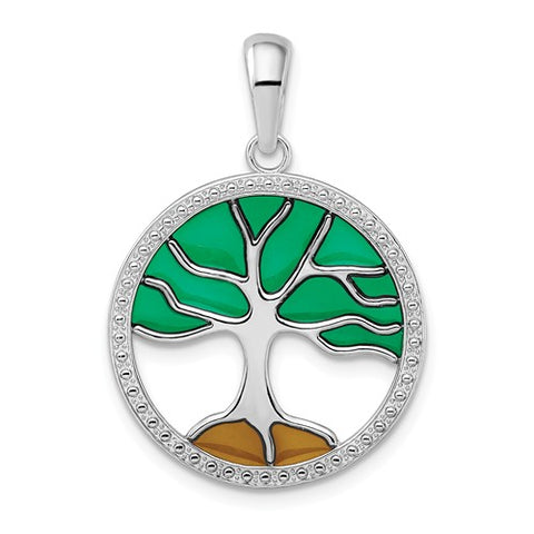 925 Sterling Silver Tree of Life Necklace Charm - Cailin's