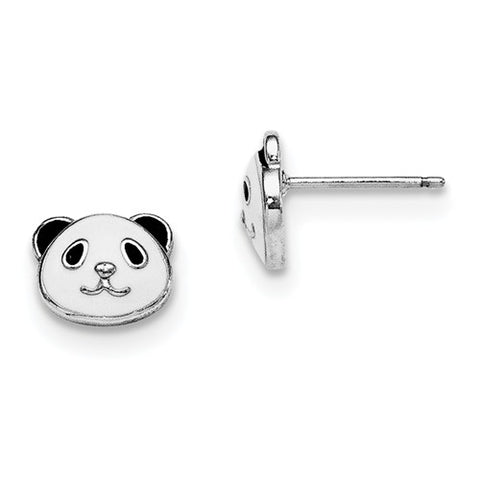 925 Sterling Silver Panda Post Earrings - Cailin's