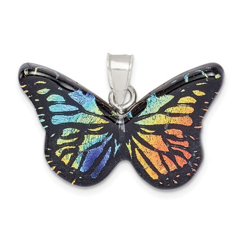 925 Sterling Silver Amazing Butterfly Necklace Charm - Cailin's