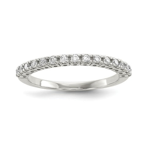 925 Sterling Silver Stunning Stackable CZ Ring - Cailin's