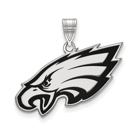 925 Sterling Silver Philadelphia Eagles NFL Necklace Charm - Cailin's