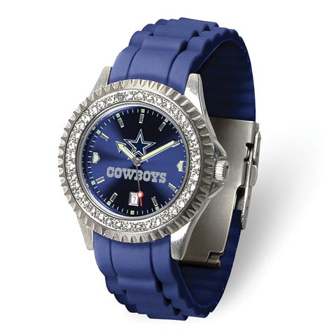 NFL Dallas Cowboys Crystal Sparkle Women's Football Watch - Cailin's