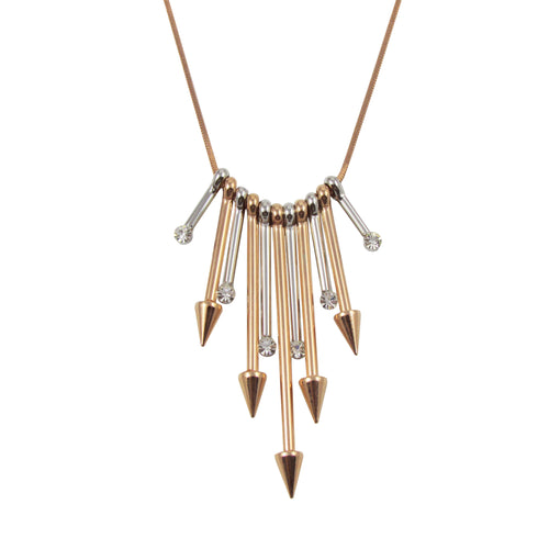Arrow Spike Necklace