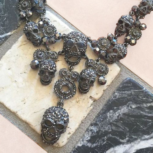 Multi Skull Necklace
