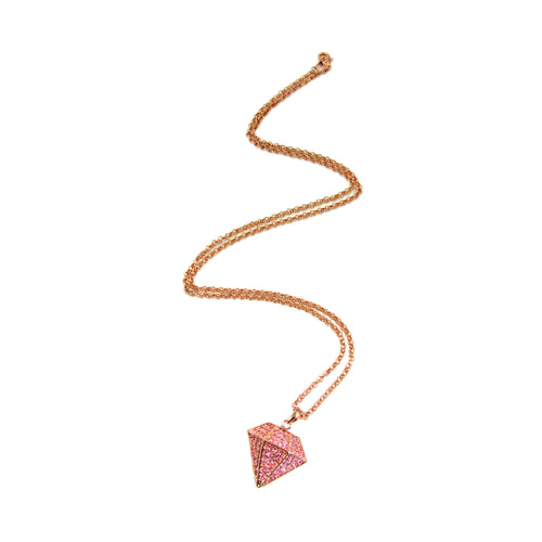 Diamond Minx Necklace | Rose Gold